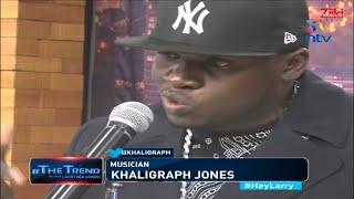 Khaligraph Jones  #RespectTheOgs Freestyle #TheTrend