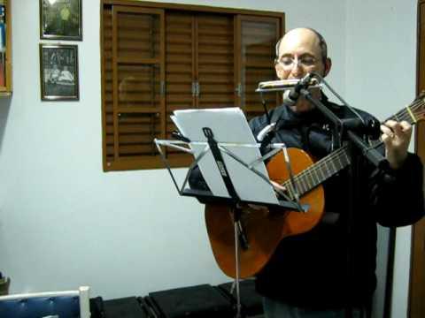 FOREVER AND EVER  ( Demis Roussos) - guitar and harmonica , violão e gaita de boca