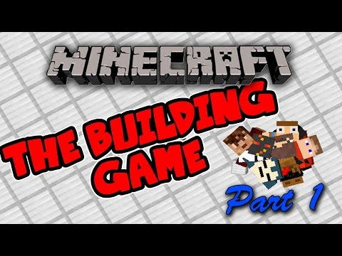 Minecraft 1.8.3 - The Building Game - Funny Moments! (w/ Friends) [Part 1]
