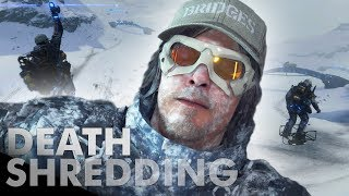 Death Stranding  I Made a SKI RESORT For Everyone For No Practical Reason