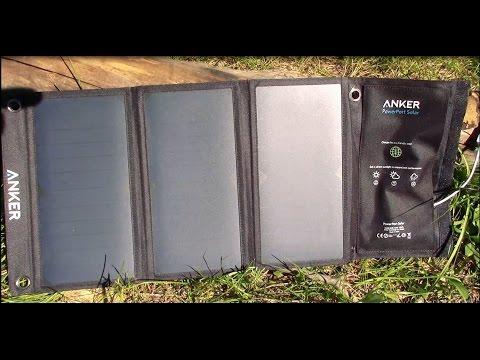Anker 21W PowerPort Solar Testing - Part 2