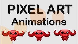 HOW TO ANIMATE PIXEL ART GAME CHARACTERS IN PS - TUTORIAL