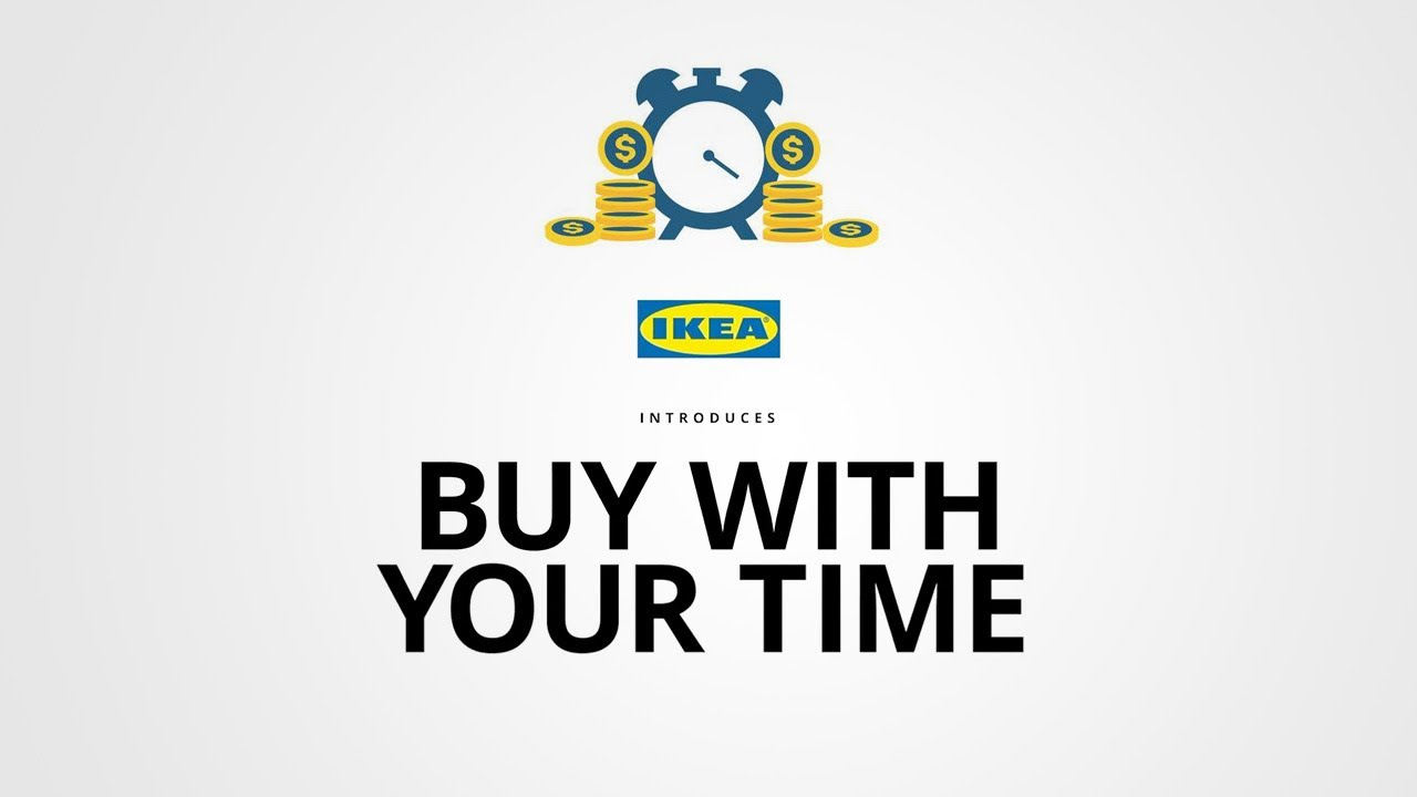 Buy with your time
