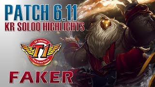 SKT T1 Faker - Bard Support - KR LOL Challenger 692LP Highlights