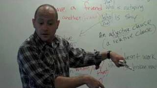 English ESL Adjective Grammar Rap Song ColloClass Lesson 6 with Fluency MC!