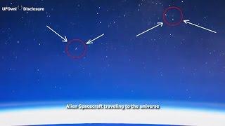 Ripresa in video l'autostrada spaziale aliena da e verso la Terra