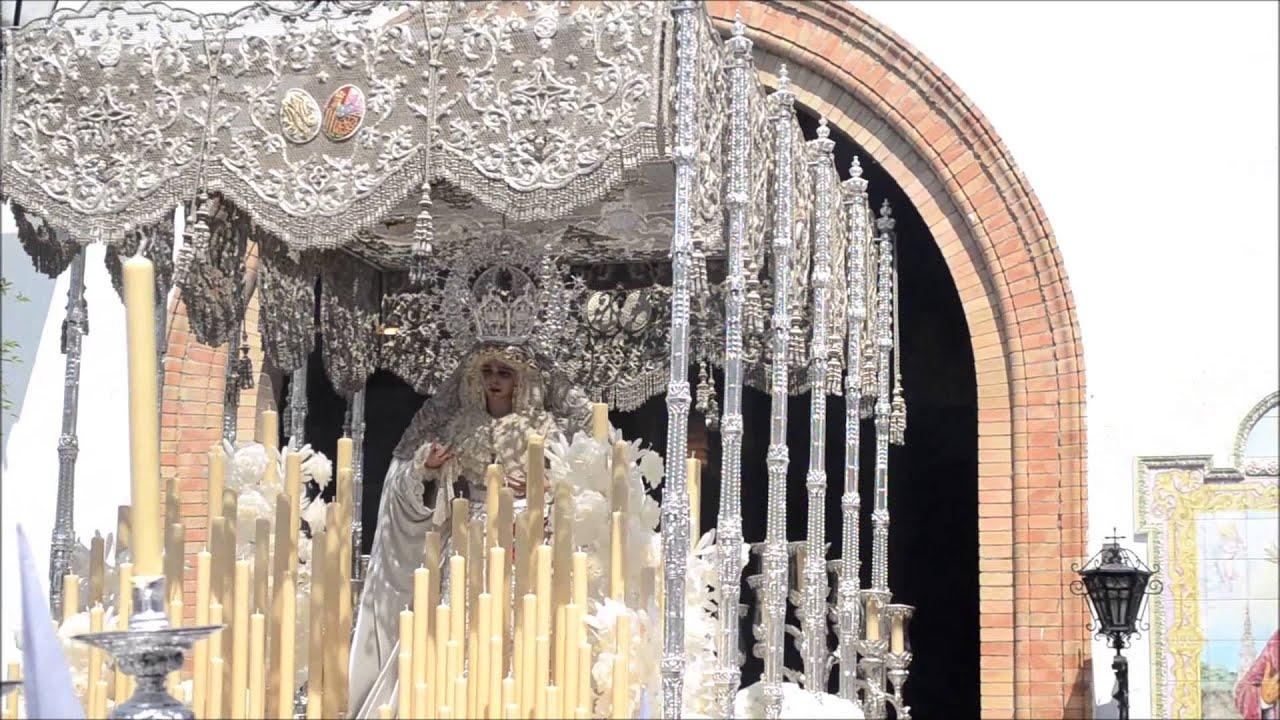 Salida Hermandad De La Paz Semana Santa De Sevilla 2014