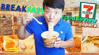Download BEST FOOD at Singapore 7-ELEVEN   BREAKFAST Food Review Mp3 and Videos