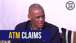 WATCH: Magashule prepares to take legal action over claims he's linked to ATM
