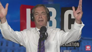 The Nigel Farage Show On Sunday: Will Hillary ever accept responsibility? 1/2 LBC -15th October 2017
