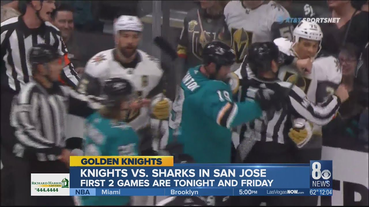 Las Vegas gears up to cheer on Golden Knights in NHL Stanley Cup Playoffs