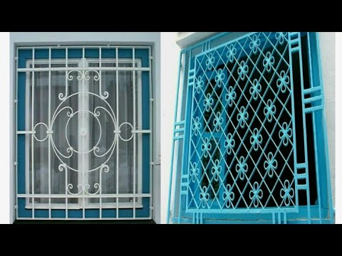 Simple Modern Window Grill Designs For Modern Homes