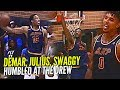 DeMar DeRozan, Nick Young & Julius Randle HUMBLED By Random Drew League Players! Still Get The W Tho
