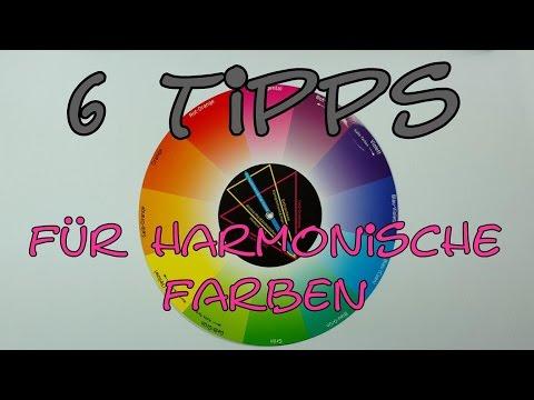 6 Tipps für harmonische Farben -auch ohne Farbenlehre