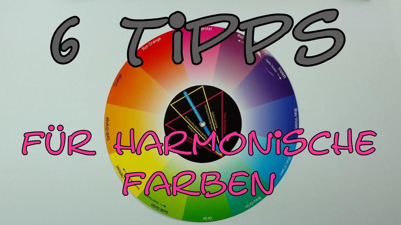 6 Tipps Für Harmonische Farben Auch Ohne Farbenlehre