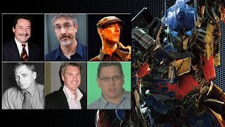 "Characters Voice Comparison - ""Optimus Prime"""
