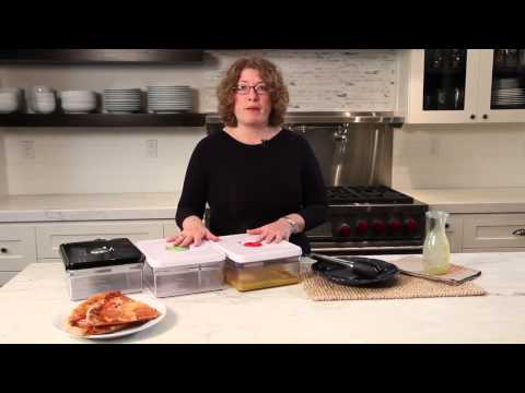 Cuisinart Fresh Edge Marinating Container (CFS-TC-145G) Demo Video