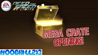 Need For Speed No Limits Mega Crate Opening!!
