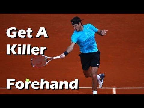 Tennis Forehand Technique   Get Maximum Power