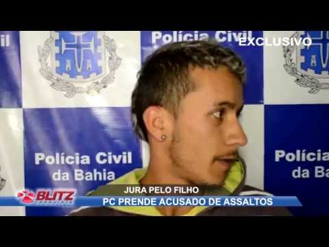 PC PRENDE ACUSADO DE ASSALTAR DISTRIBUIDORA DE BEBIDAS