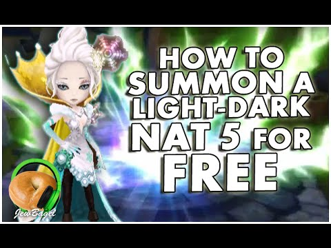 SUMMONERS WAR : How to Summon a Light/Dark Nat 5 for FREE