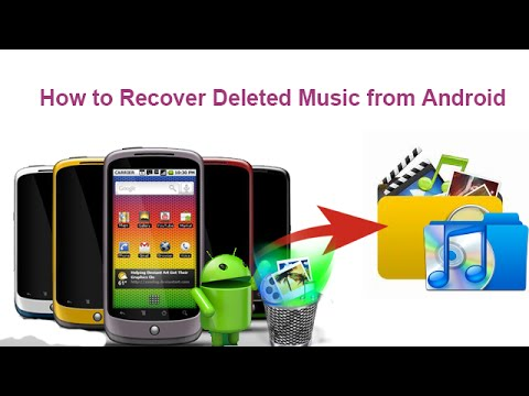 How to Recover Deleted Music from Android