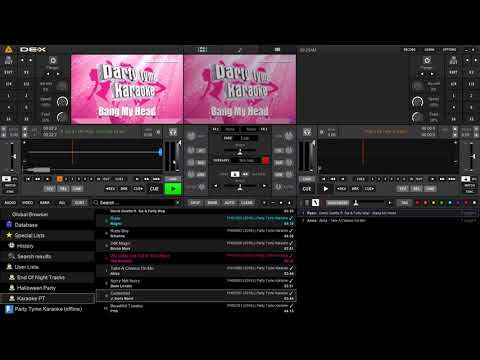 PCDJ DEX 3 | New Karaoke Features Found in Version 3.10 (and up)