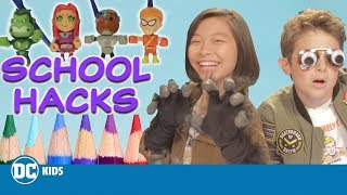 DC Kids Back To School Hacks! | DC KIDS SHOW