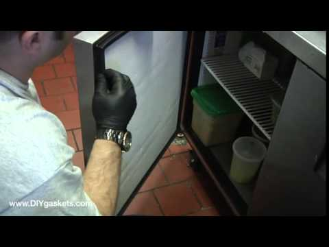 How to Replace a True Refrigeration Door Gasket  601 Profile