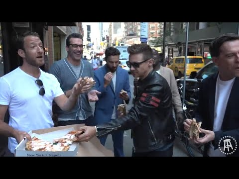 Barstool Pizza Review- Don Antonio w/ Jon Hamm,Ed Helms,Jeremy Renner,Jake Johnson & Hannibal Buress