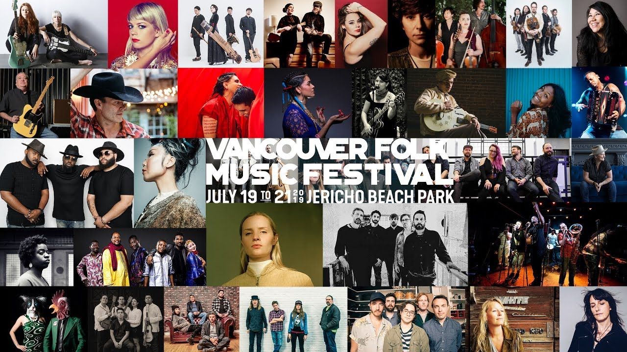 2019 Summer Music Festivals in British Columbia