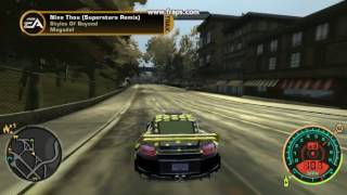 NFS Most Wanted (2005) lag free config