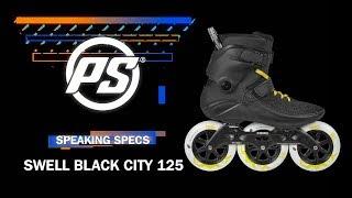 Powerslide Swell City 125 fitness skate - Powerslide Speaking Specs