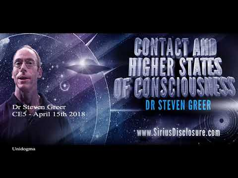 Dr Steven Greer has contact with beings during a CE5 event -UFO April 15th