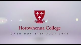 Horowhenua College - Open Evening - 21 July 2014