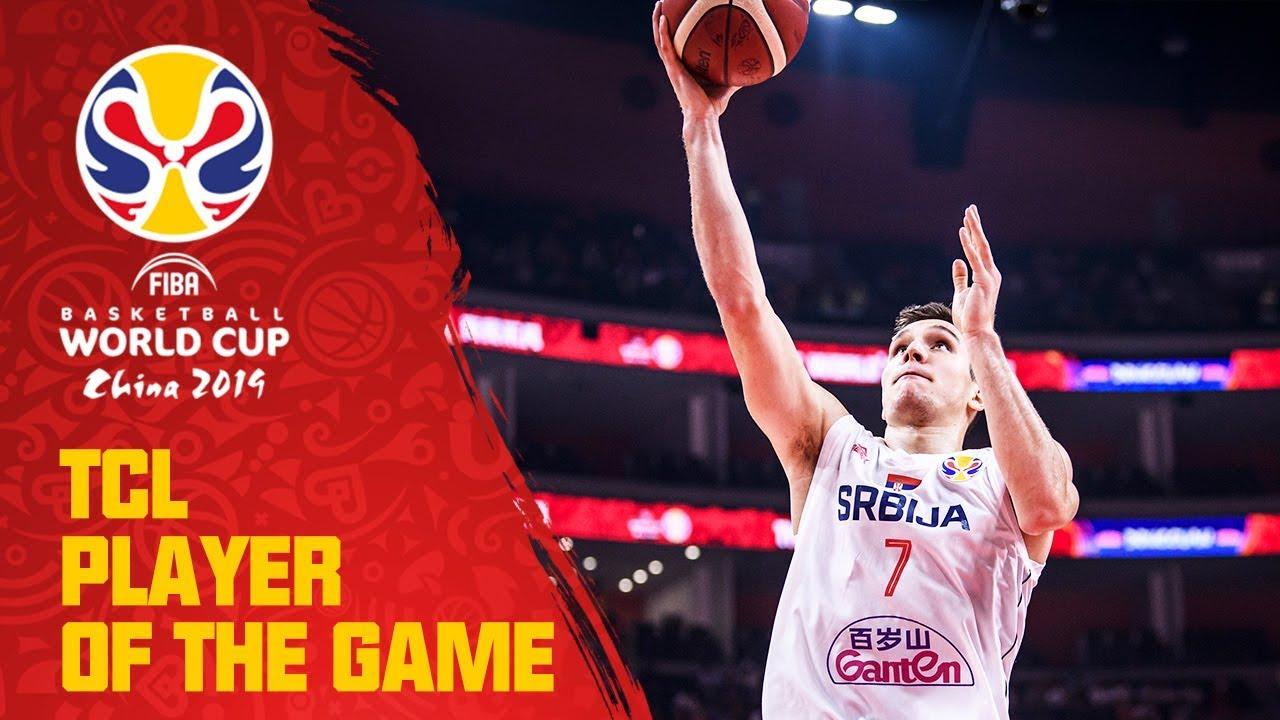 Bogdan Bogdanovic | Serbia v USA | TCL Player of the Game