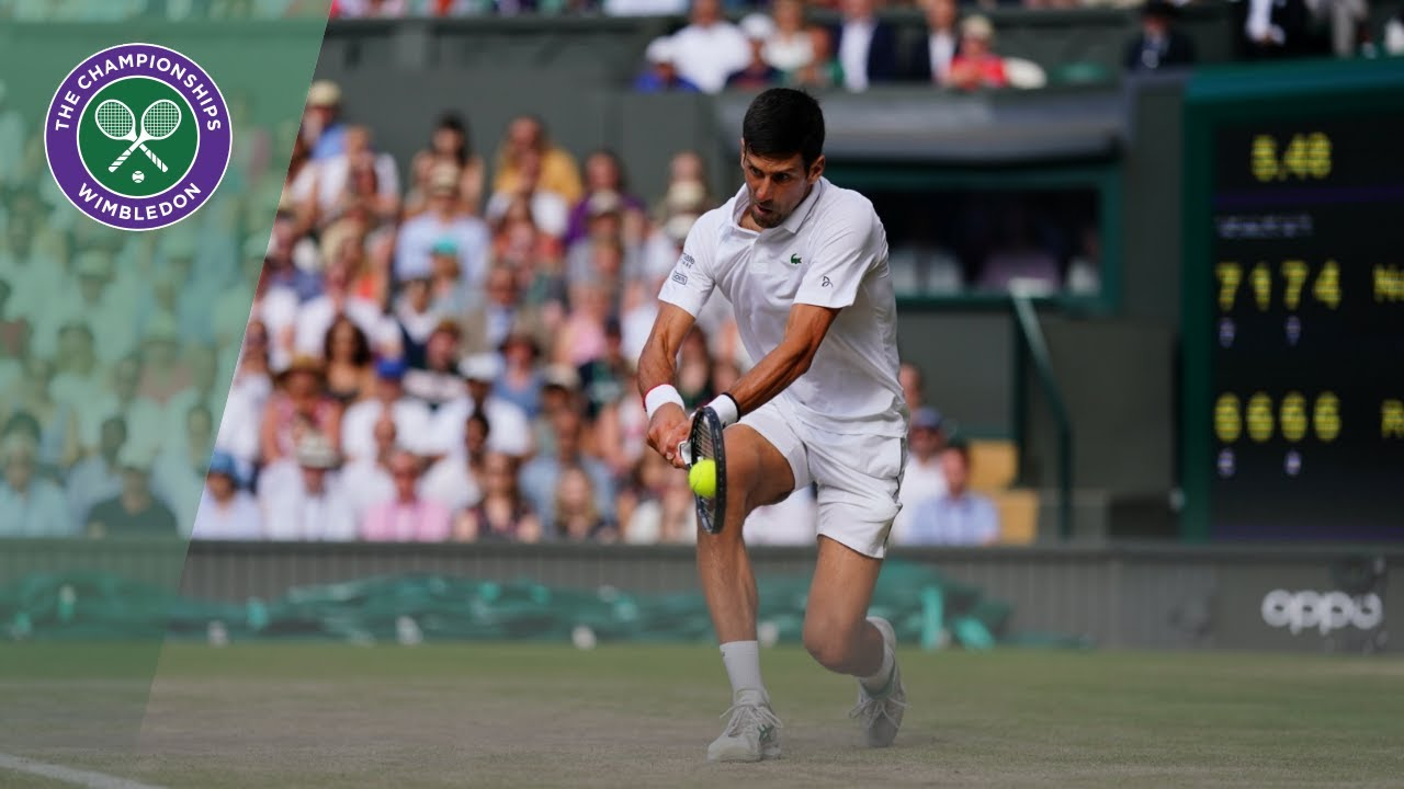 Novak Djokovic vs Roger Federer Wimbledon 2019 final highlights