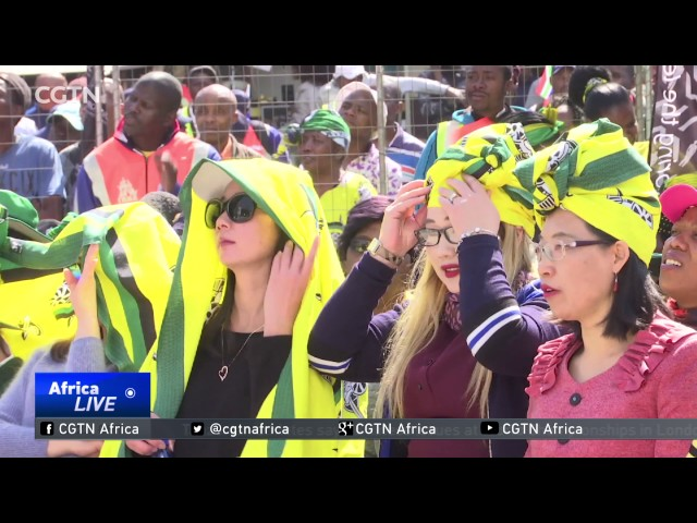 South African women commemorate historic 1956 march.