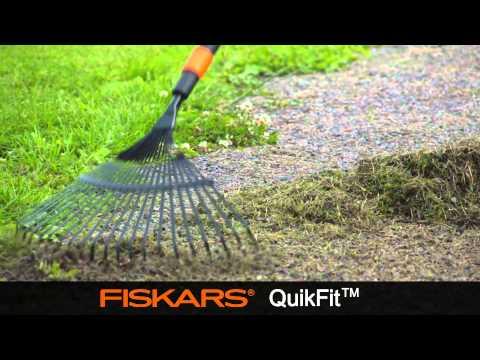 Fiskars QuikFit™ Leaf Rake metal 135201