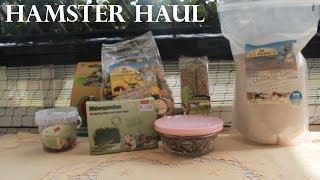 Hamster Haul (Futter und Spielzeug)