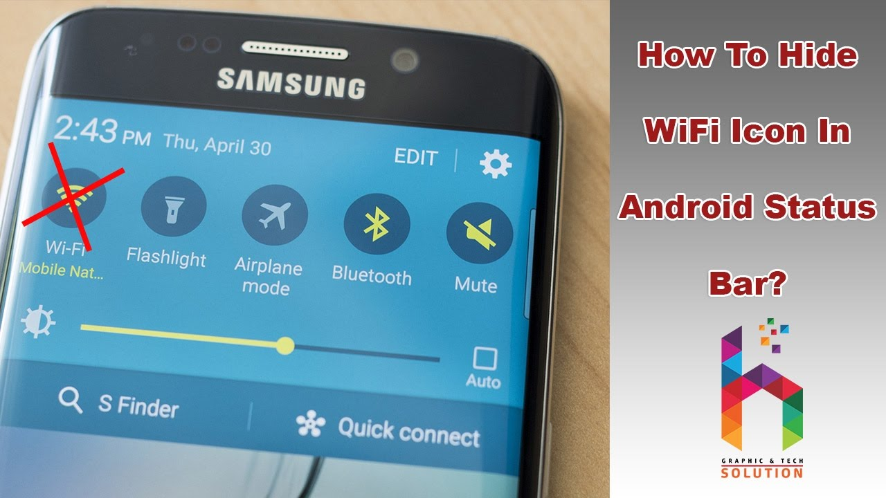 How To Hide Wifi Icon In Android Status Bar Youtube