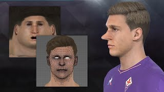 PES2018 | Face Making Tutorial (Step-By-Step)