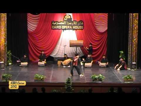 KBRI Cairo - Rampak Gendang dan Silat di Opera Cairo, Ramadhan 2012-1