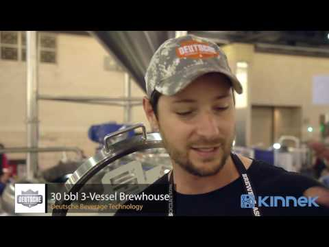 Deutsche Beverage Technology - 30 bbl 3 vessel Brewhouse