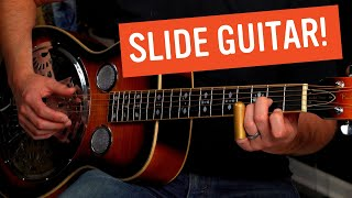 How to Play this Fast and Dark Blues in Open G Tuning