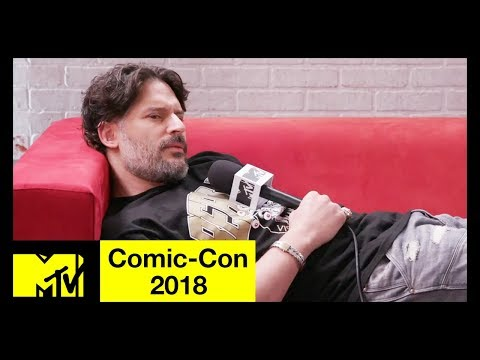 Joe Manganiello Talks 'Deathstroke', 'Dungeons & Dragons' & His Streetwear Line  ComicCon 2018