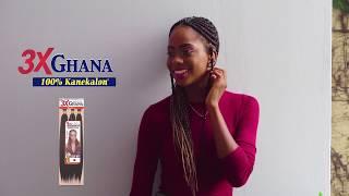 Ghana Braid Hair Rocking Out In Jamaica
