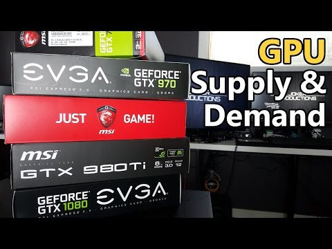 1080 vs 480 Launch | Graphics Cards Supply & Demand