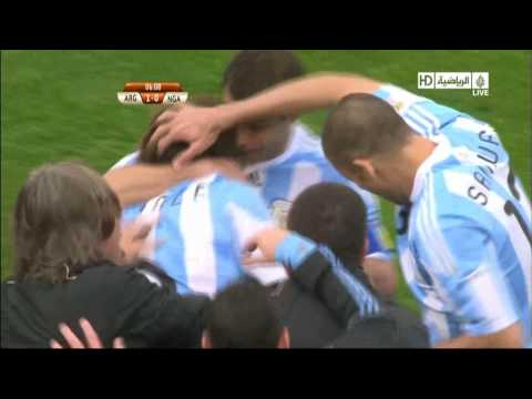 Argentina Vs Nigeria [1-0] All Goals FIFA World Cup 2010 South Africa