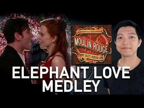 Elephant Love Medley (Christian Part Only - Instrumental) - Moulin Rouge